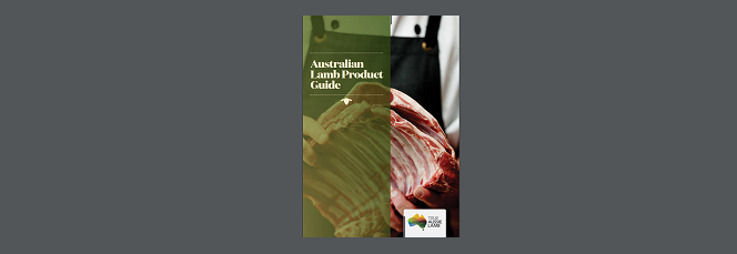 AUSTRALIAN LAMB PRODUCT GUIDE