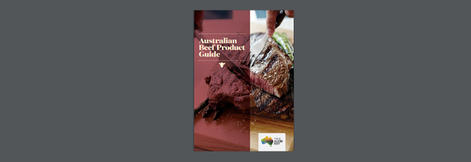 AUSTRALIAN BEEF PRODUCT GUIDE